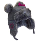 Cali Kids Wool Blend Aviator Hat
