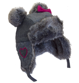 Cali Kids Wool Blend Aviator Hat