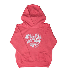 Sidetrack Sidetrack Toddler Boston Icon Hoodie