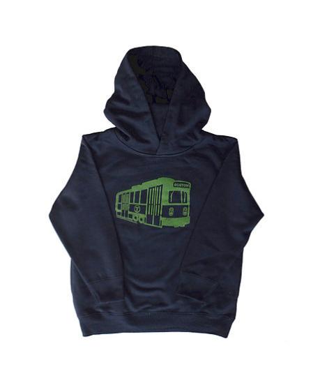 Sidetrack Sidetrack Green Line Hoodie - BROO34256