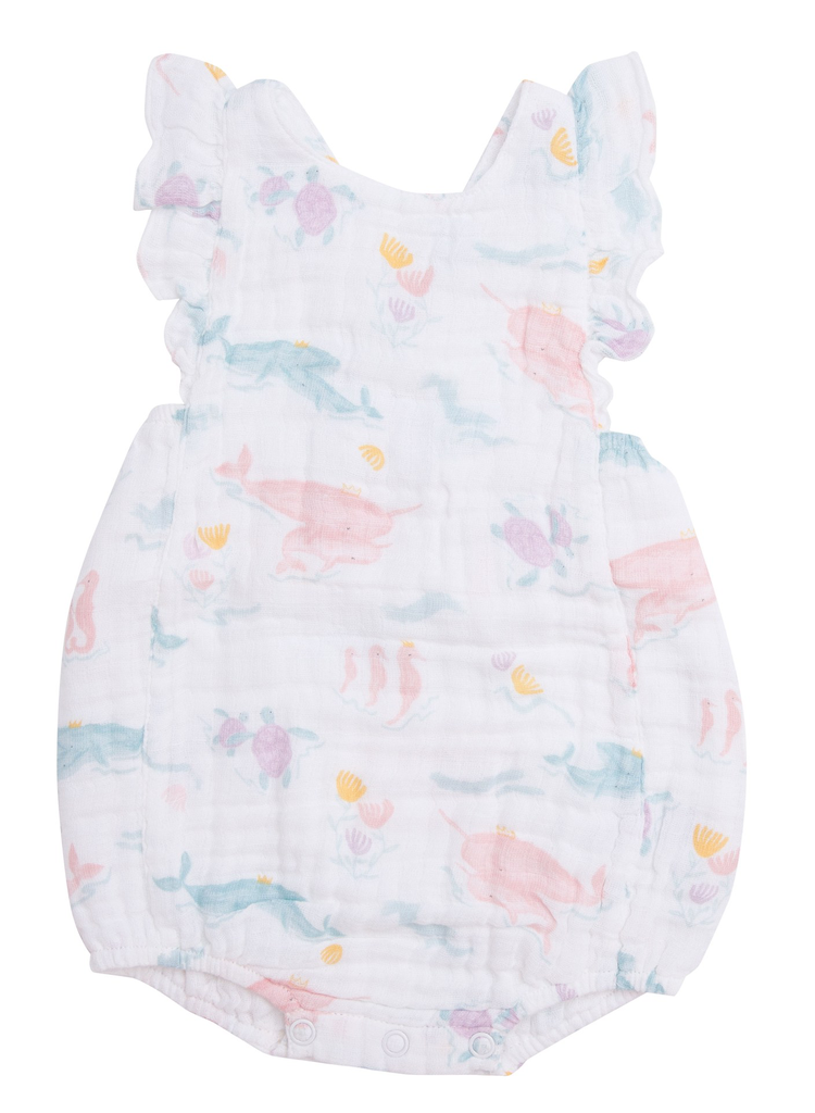 Angel Dear Angel Dear Pretty Ocean Sunsuit