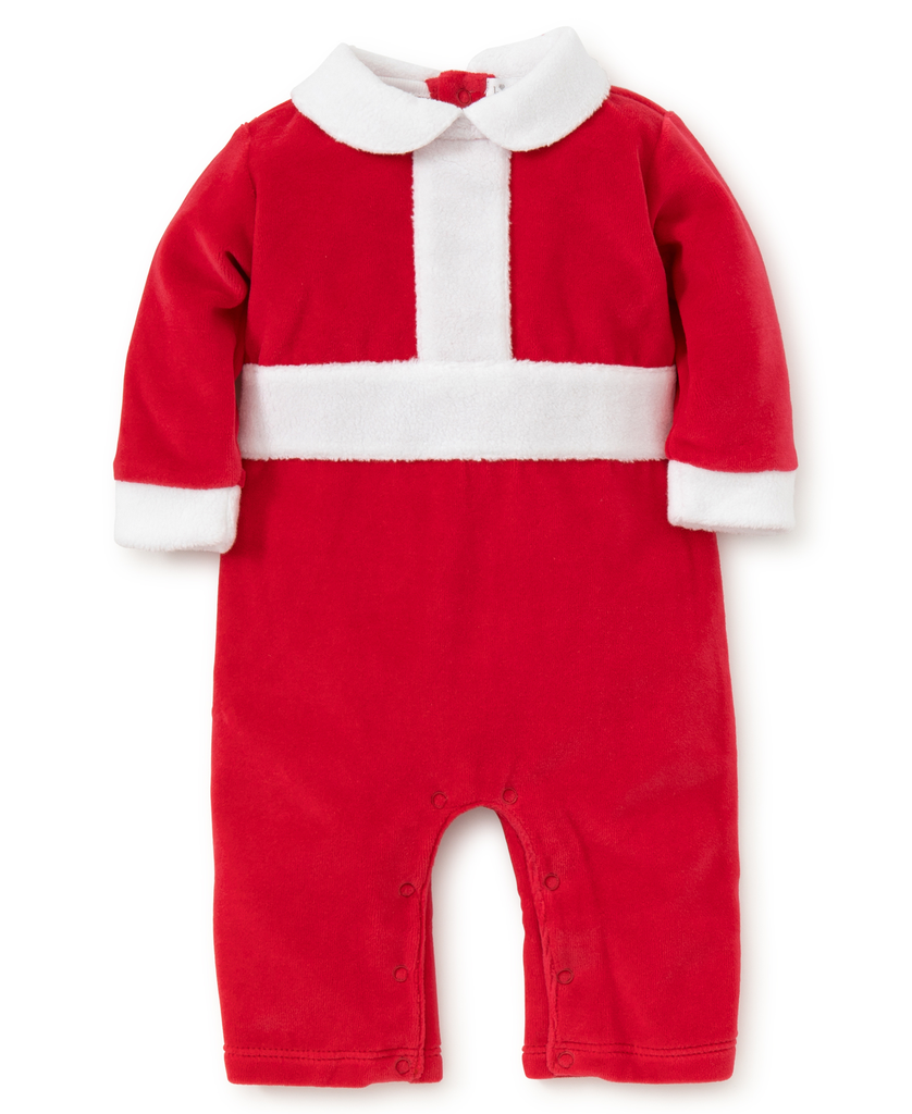 kissy kissy Kissy Kissy Holidaze Velour Playsuit
