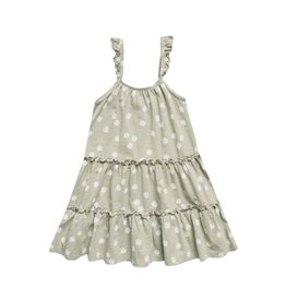 Rylee and Cru Rylee and Cru Daisy Confetti Tiered Jersey Dress