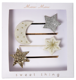 Meri Meri Meri Meri Moon & Star Hair Slides