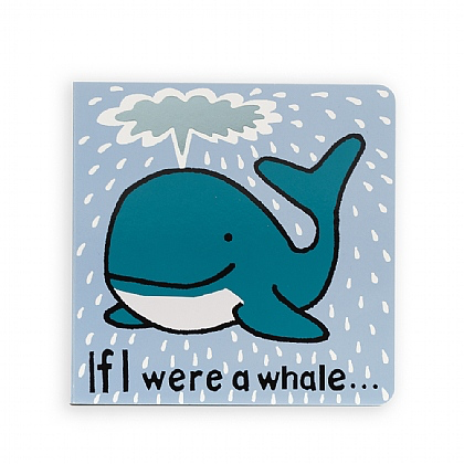JellyCat Jelly Cat If I Were a Whale Book