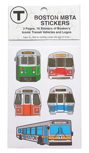 Sidetrack Sidetrack Boston MBTA Stickers