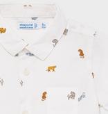 Mayoral Mayoral Short Sleeve Print Shirt