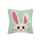 Hello Easter Bunny Hook Pillow