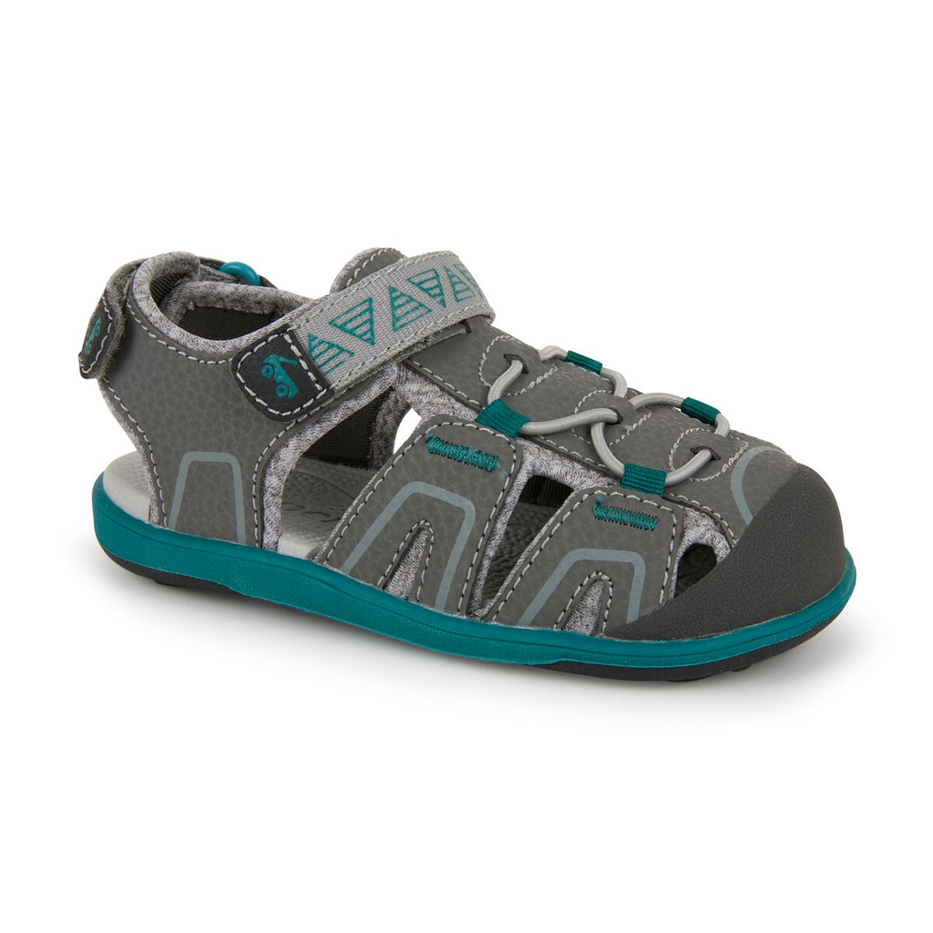 See Kai Run See Kai Run Lincoln IV - Gray/Teal