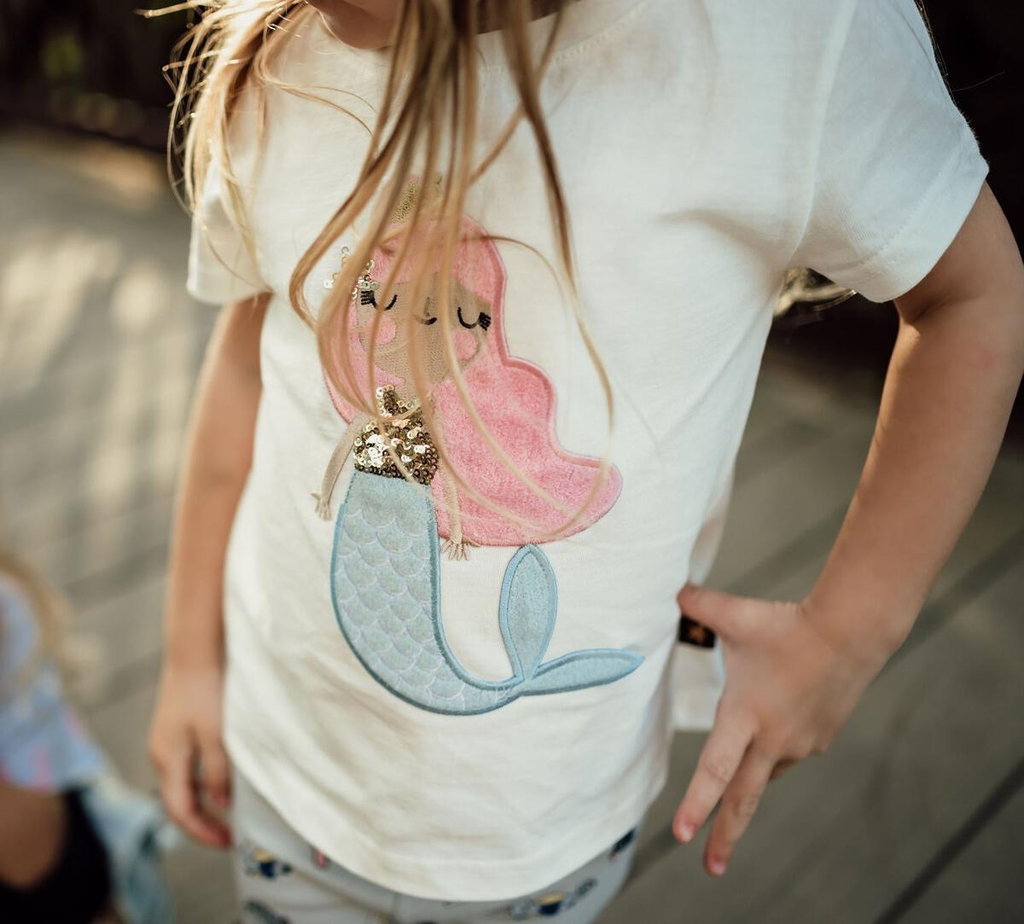 Petite Hailey Petite Hailey Mermaid Tshirt