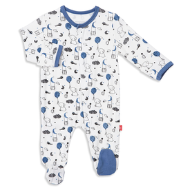 Magnificent Baby Magnificent Baby Skylark Modal Footie *more colors*