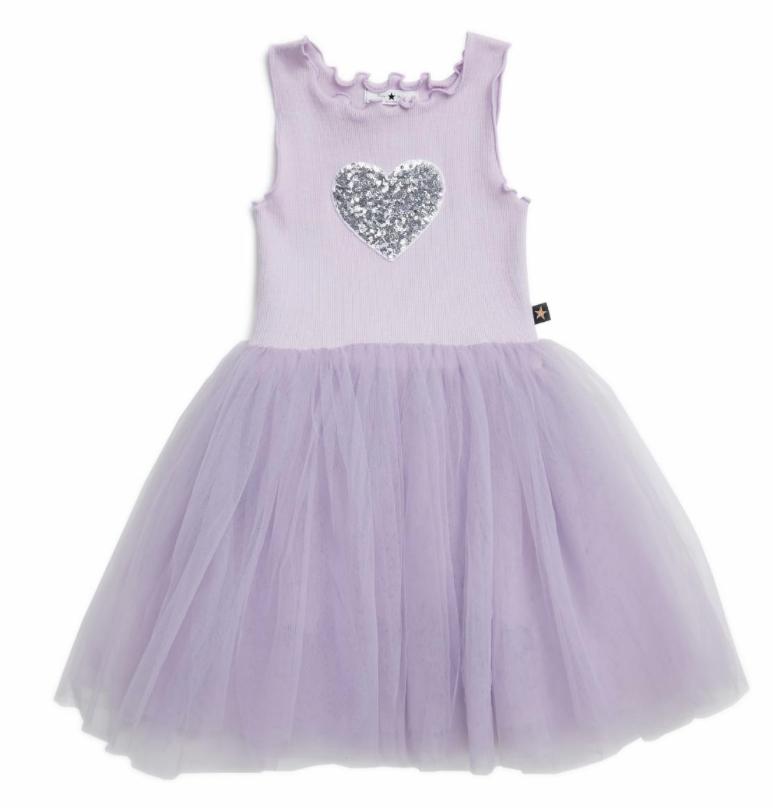 Petite Hailey Petite Hailey Tutu Dress with Heart - BROO75071
