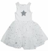 Petite Hailey Petite Hailey Sparkle Tutu Dress with Star