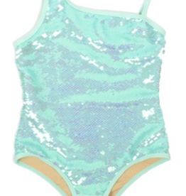 Shade Critters Shade Critters Full Sequin Mint One Piece