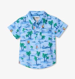 Hatley Hatley Hawaiian Tropics Short Sleeve Button Down