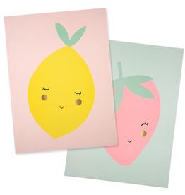 Meri Meri Meri Meri Fruit Art Prints