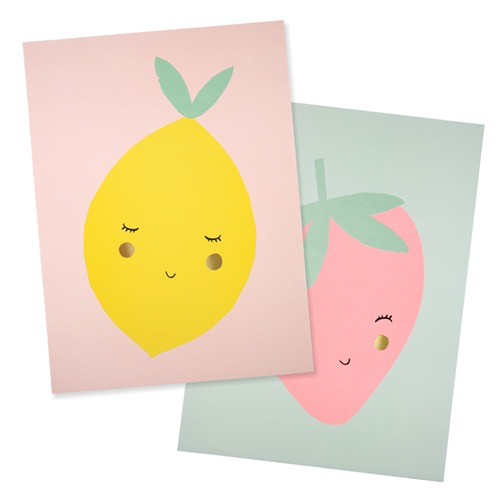 Meri Meri Meri Meri Fruit Art Prints