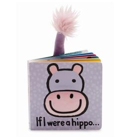 JellyCat JellyCat If I were a Hippo Book