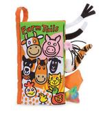 JellyCat Jelly Cat Farm Tails Book