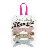 Rockahula Lily Leopard Skinny Bow Clips