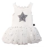 Petite Hailey Petite Hailey Baby Sparkle Tutu Dress with Star