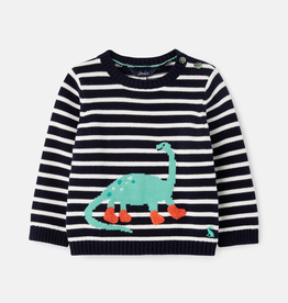 Joules Joules Glee Intarsia Dino Sweater