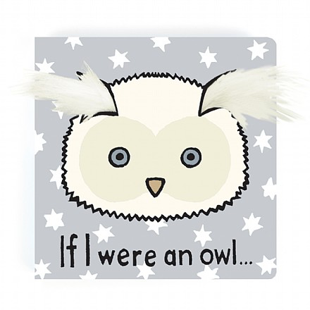 JellyCat Jelly Cat If I were an Owl Book