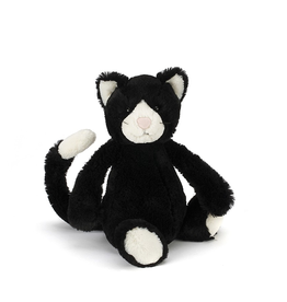 JellyCat Jelly Cat Bashful Black and White Cat Medium