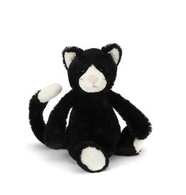JellyCat JellyCat Bashful Black and White Cat Medium
