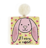 JellyCat Jelly Cat If I Were a Pink Rabbit Book