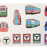 Sidetrack Sidetrack Boston MBTA Tatoos