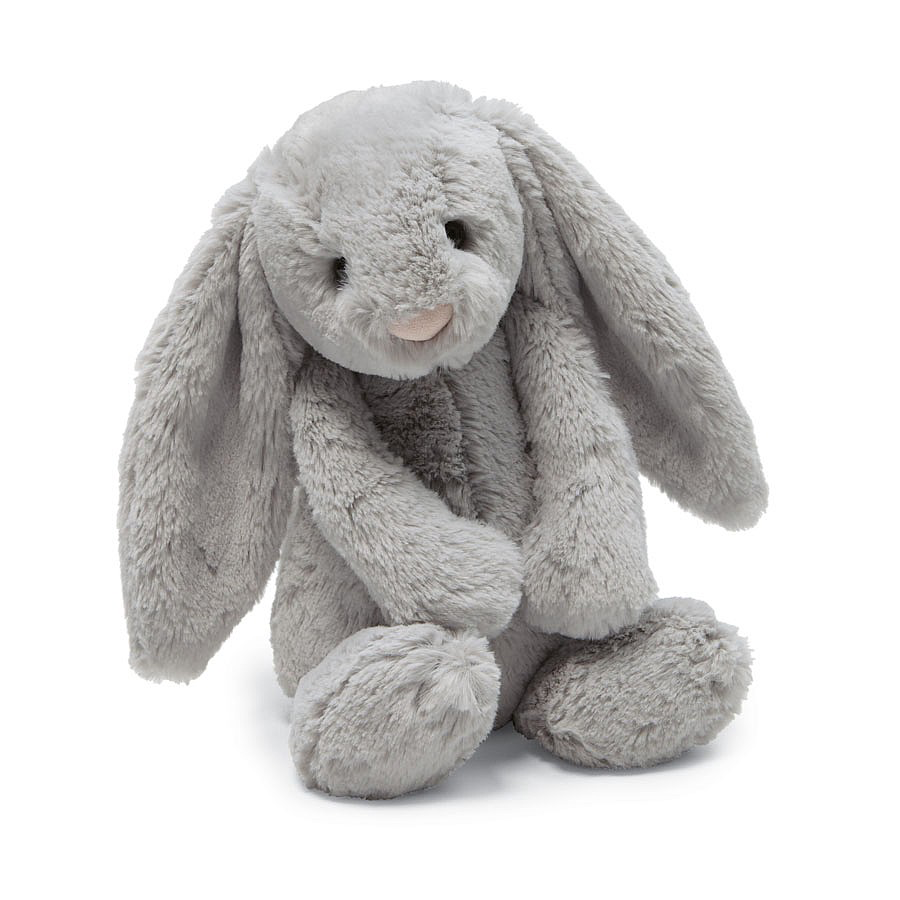 JellyCat JellyCat Bashful Grey Bunny Small