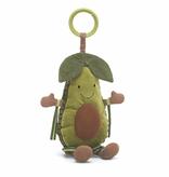 JellyCat Jelly Amuseable Avocado Activity Toy