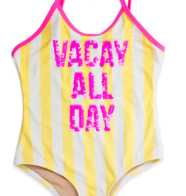 Shade Critters Shade Critters Sequin Vacay One Piece