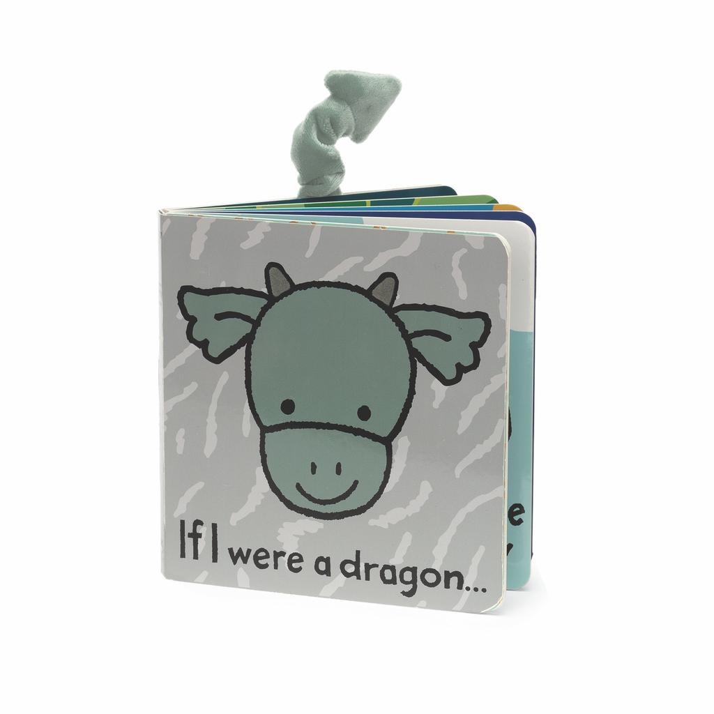 JellyCat JellyCat If I Were A Dragon Book