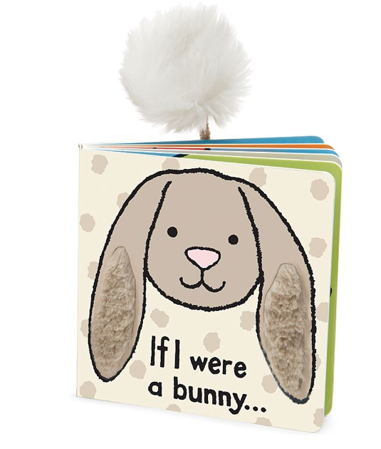 JellyCat JellyCat If I Were a Bunny Book Beige