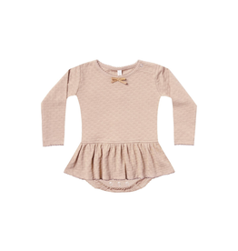 Quincy Mae Quincy Mae Pointelle Skirted Onesie