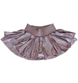 Lola & the Boys Lola & the Boys Metallic Skort