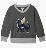 Hatley Hatley Noble Dragon V-Neck Sweater