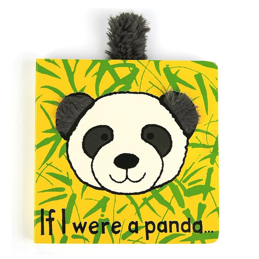 JellyCat Jelly Cat if I were a Panda Book