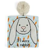 JellyCat JellyCat If I Were a Grey Rabbit Book