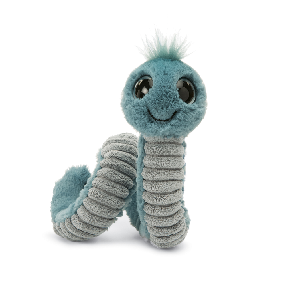 JellyCat Jelly Cat Blue Wiggly Worm