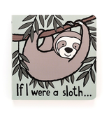 JellyCat Jelly Cat If I Were A Sloth Book