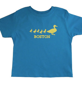 Sidetrack Sidetrack Ducklings Short Sleeve Tee  Shirt - Blue