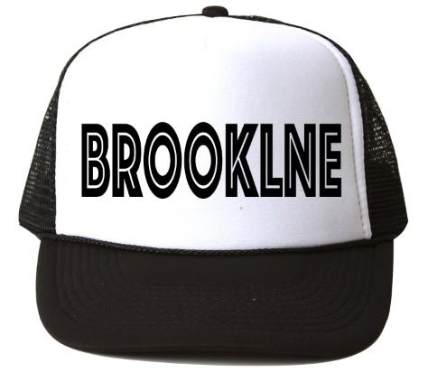 bubu Brookline Baseball Hat-Black Ink