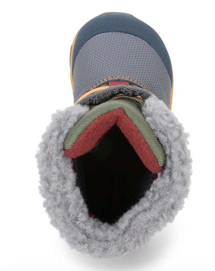 See Kai Run See Kai Run Gilman Winter Boot - Gray/Blue