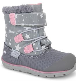 See Kai Run See Kai Run Gilman Winter Boot - Gray Star