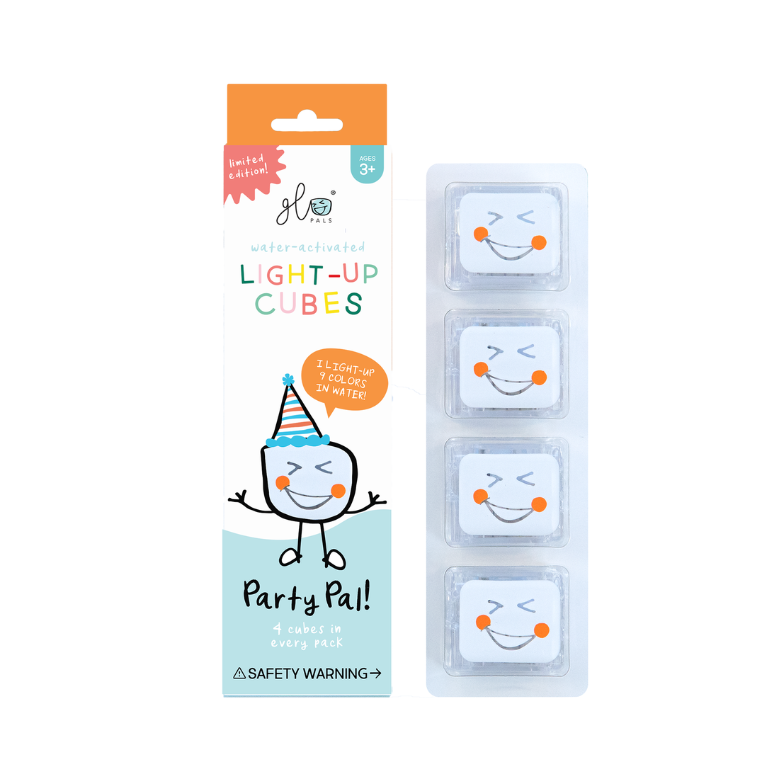 glo pal Glo Pals Light Up Party Cubes  4 Pack