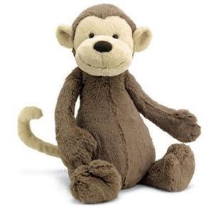 JellyCat Jelly Cat Bashful Monkey Medium