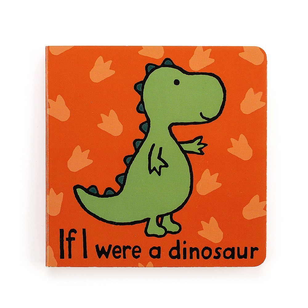 JellyCat Jelly Cat If I Were A Dinosaur Book